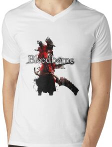 Bloodborne - Hunter Mens V-Neck T-Shirt