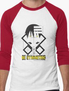 Be Symmetric Men's Baseball ¾ T-Shirt