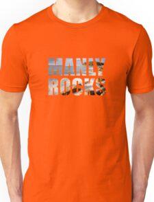 Manly is Rocks - Girls T Unisex T-Shirt