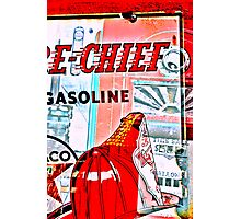 fire chief Photographic Print