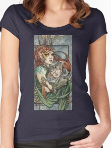 The Protector Women's Fitted Scoop T-Shirt