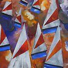 Morning Sails by Rachel Ireland-Meyers