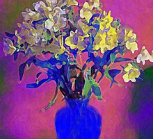 Still Life Vase of Flowers Number 2 by kreativekate