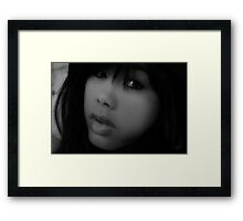 """ Come Softly to me "" Framed Print"
