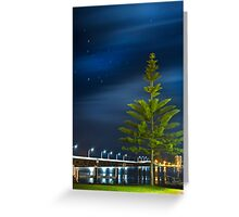 Forster Lake by Night Greeting Card