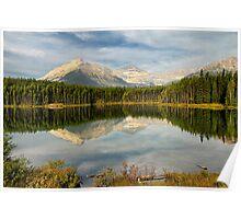 Herbert Lake, Banff NP Poster