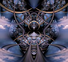 The Collective Organism - The Lab by Craig Hitchens - Spiritual Digital Art