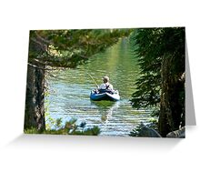 For the Love of Fishing Greeting Card