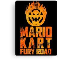 Mario Kart Fury Road Canvas Print