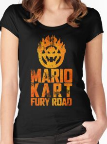Mario Kart Fury Road Women's Fitted Scoop T-Shirt