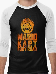 Mario Kart Fury Road Men's Baseball ¾ T-Shirt