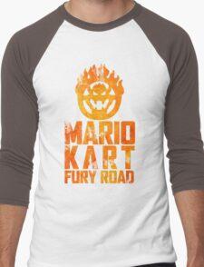 Mario Kart Fury Road Men's Baseball ¾ T-Shirt