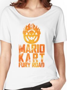 Mario Kart Fury Road Women's Relaxed Fit T-Shirt
