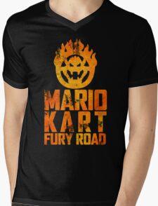 Mario Kart Fury Road Mens V-Neck T-Shirt