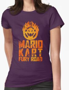Mario Kart Fury Road Womens Fitted T-Shirt