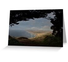 Point Rays Greeting Card