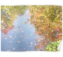 Fall Water Color Poster