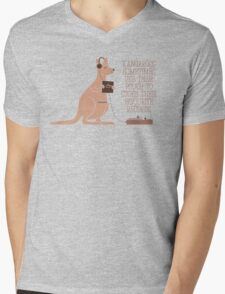 Did You Know Mens V-Neck T-Shirt
