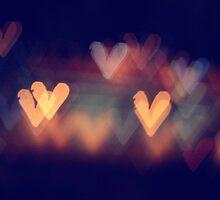 Heart bokeh by vnysia