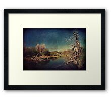 Happening Framed Print