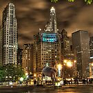 Chicago Night (one) by Mariano57