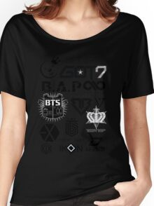 KPOP GROUPS1 Women's Relaxed Fit T-Shirt