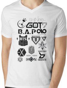 KPOP GROUPS1 Mens V-Neck T-Shirt