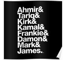 The Roots & Questlove Helvetica Ampersand Merch Poster