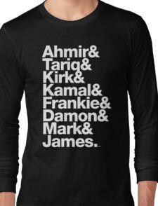 The Roots & Questlove Helvetica Ampersand Merch Long Sleeve T-Shirt