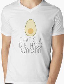 A Big Hass Avocado Mens V-Neck T-Shirt