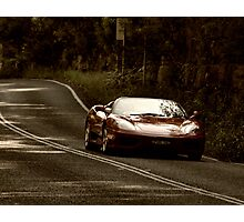 Ferrari On the Bends Photographic Print