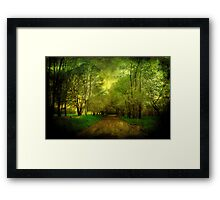 Learning Texture Framed Print