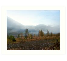 Northfork Morning Art Print