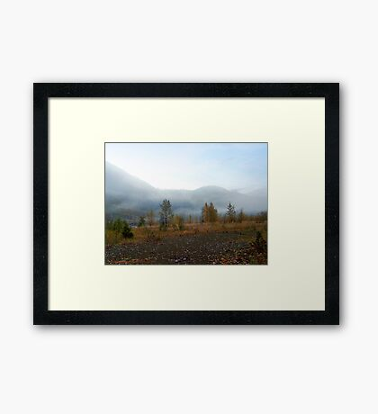 Northfork Morning Framed Print