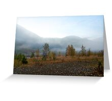 Northfork Morning Greeting Card