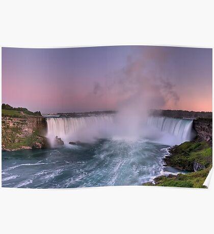 Power of Horseshoe - Niagara Falls  Poster