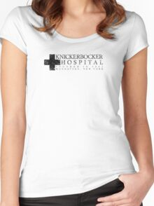 The Knick - Cross - Black Dirty Women's Fitted Scoop T-Shirt