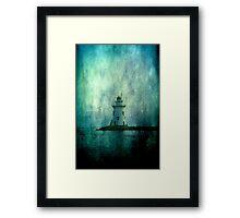 Lighthouse- Textured Framed Print