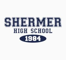 Shermer High School by waywardtees