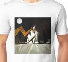 Moonlit Surface  Unisex T-Shirt