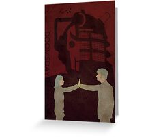 Doctor Who 177 Doomsday Greeting Card