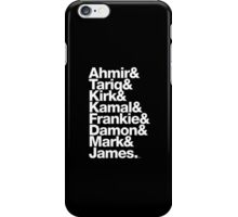 The Roots & Questlove Helvetica Ampersand Merch iPhone Case/Skin