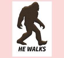 HE WALKS  Kids Tee