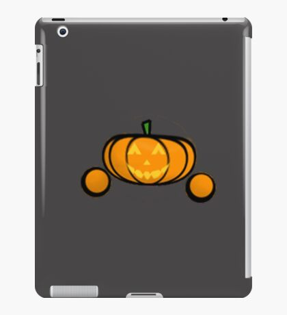 Jack-O-Lantern Emoticon  iPad Case/Skin