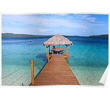 The Jetty Vanuatu Poster