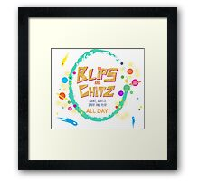 blip and chits Framed Print