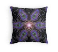 Spinning Webs Throw Pillow