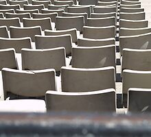 Plastic Chair Set Seats Rows Stadium  by anjafreak