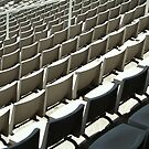 Plastic Chair Set Seats Rows Stadium II by anjafreak