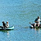 Fishing with Friends by Helen Vercoe